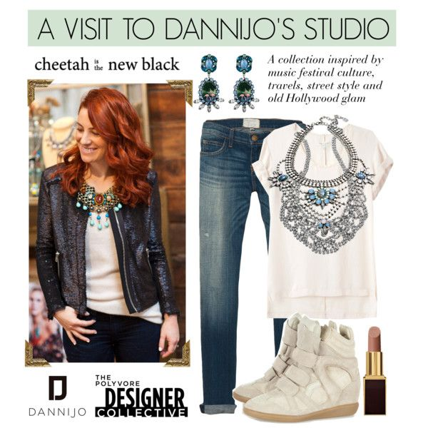 """""""A Visit to Dannijo's Studio"""" by cheetahisnb ❤ liked on Polyvore"""
