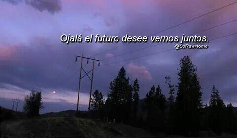 Ojalá en algún futuro