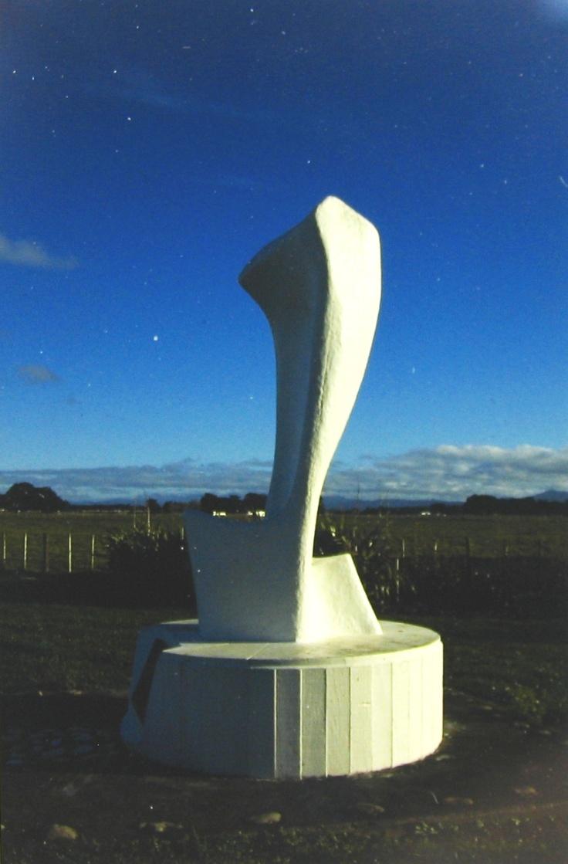 Polish Children's Memorial - Monolith (Concrete) Pahiatua, Wairarapa, New Zealand