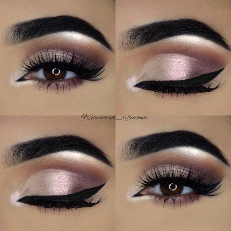 Maquillage de mariage pour les yeux bruns à la recherche # yeux #brun #four # temps de mariage # …   – Beauty