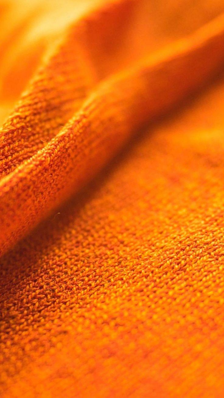 Texture Fur Orange Woolen Pattern #iPhone #6 #plus #wallpaper Texture Fur Orange Woolen Pattern <a class=