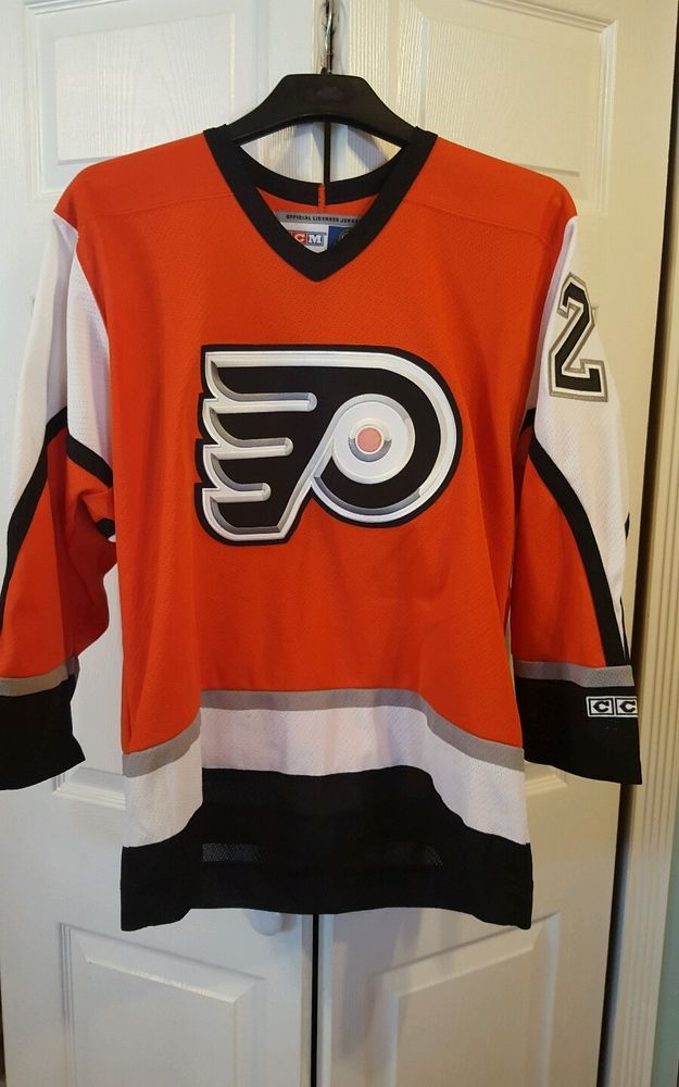 NHL VTG PHILADELPHIA FLYERS #21 FORSBERG CCM  HOCKEY JERSEY SZ M ADULT #CCM #PhiladelphiaFlyers