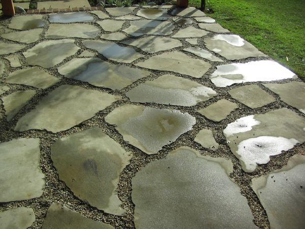 Reused Concrete