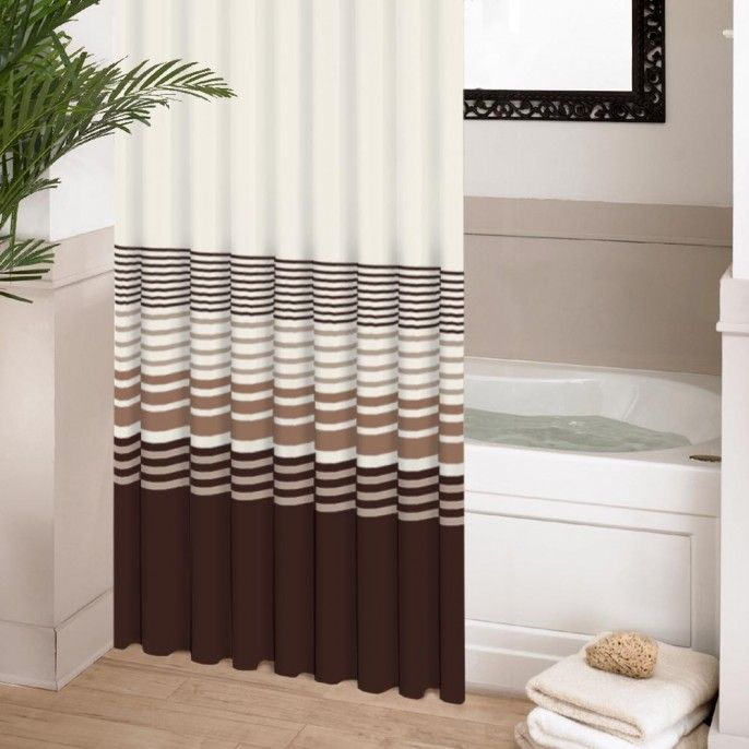 HOOKLESS PRINTED SHOWER CURTAIN - Bathroom - Home & Furniture | Poundstretcher