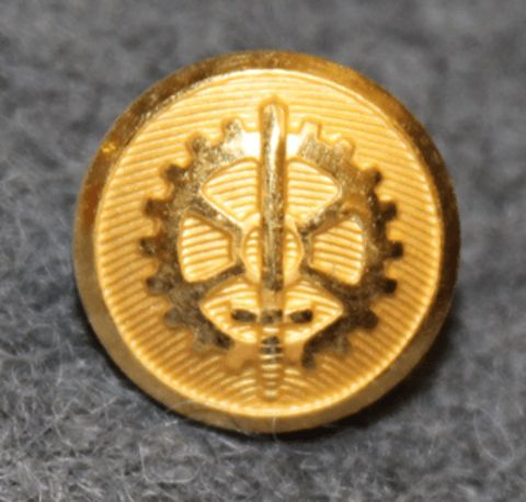 Försvarets Fabriksstyrelse, Swedish military / defence industry. 11mm gilt