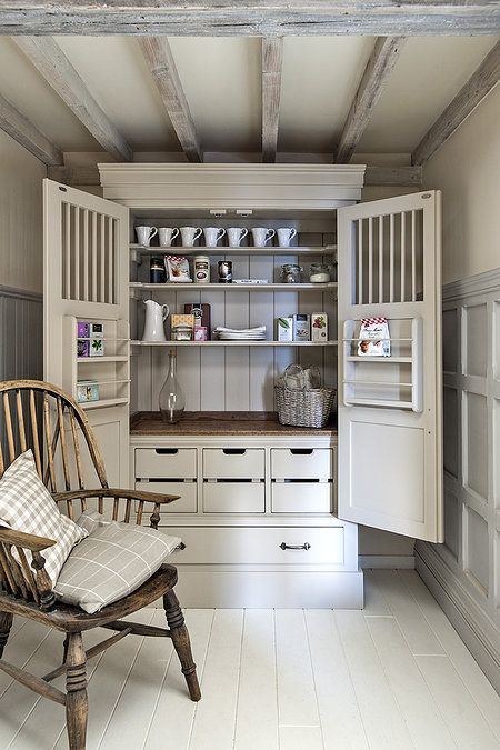 Larder Cupboard Idea From Middleton Bespoke Kitchens