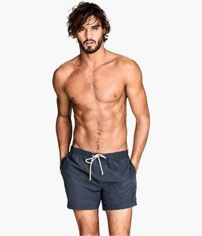 Grey Men's Swim Shorts