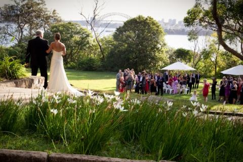 Athol Hall Wedding Ceremony