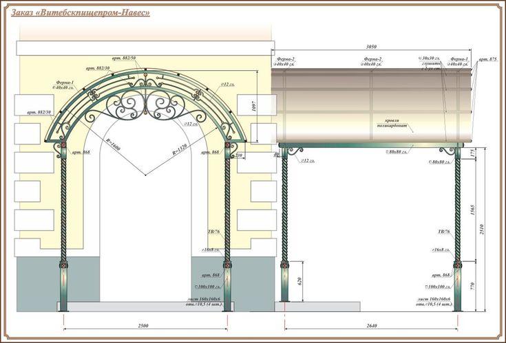 Навес-ковка (Визуализация/3D) - фри-лансер Alovak Studio [dlkoralkov].