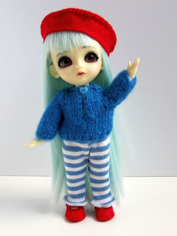A set of sweater leggings beret and shoes for by EveryDollsDream