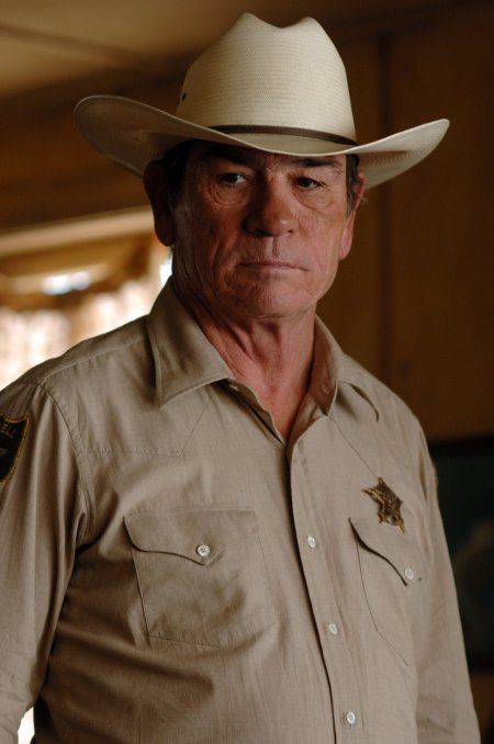 Tommy Lee Jones, one of my favorite roles he has ever played, in No Country For Old Men