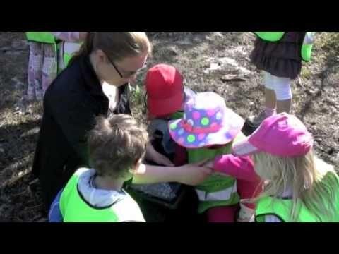 iPads i förskola - Skattjakt - YouTube