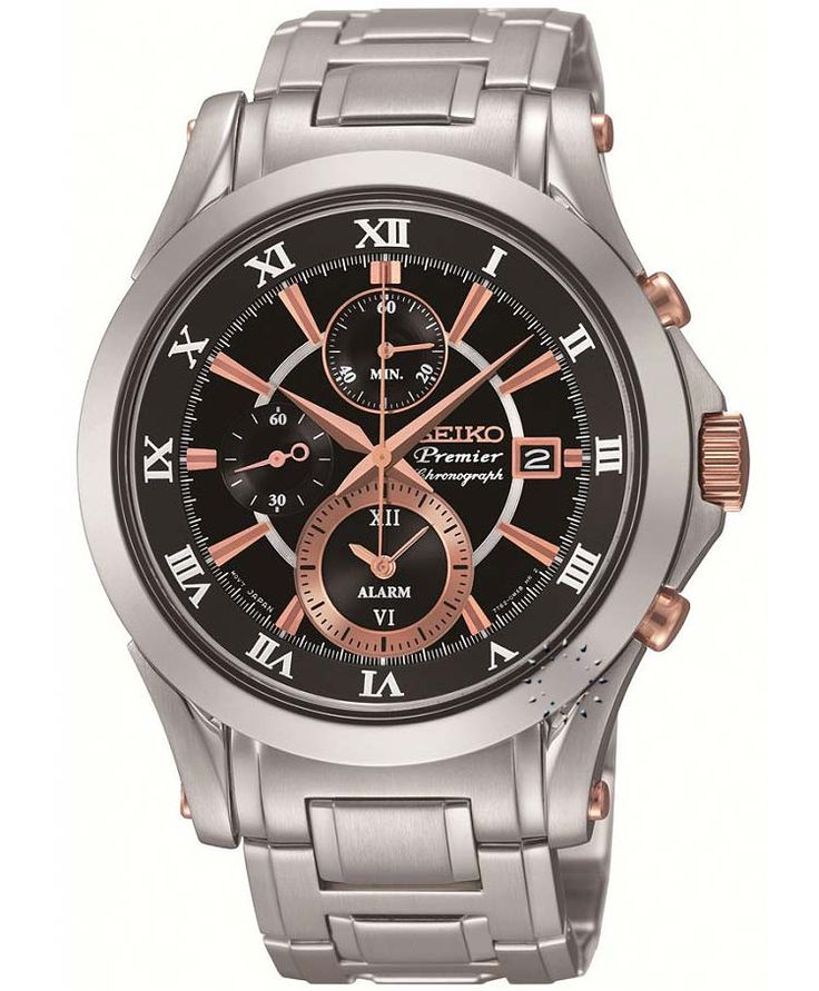 SEIKO PREMIER Alarm Chronograph Stainless Steel Bracelet Η τιμή μας: 466€ http://www.oroloi.gr/product_info.php?products_id=34396
