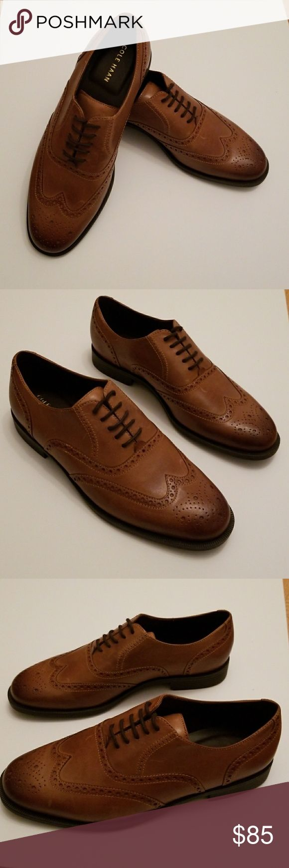 Mens Cole Haan Men's Wingtip Cole Haan Sz 10 Cole Haan Shoes Oxfords &  Derbys
