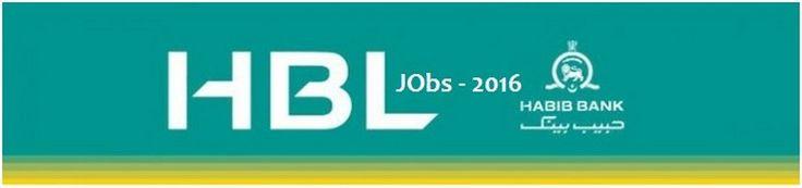 Online Jobs Apply In HBL 2016 Habib Bank Limited | Result Job