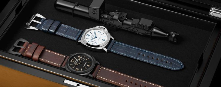 SIHH 2016: Introducing the Panerai Luminor 8-Days Set – Two Pre-Vendôme Inspired Collector's Models (Hands-on Photos and Price)