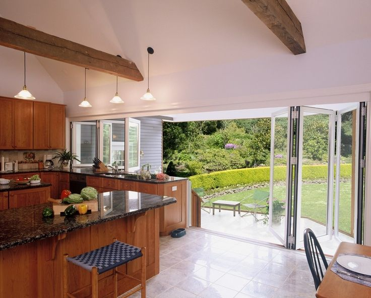 ... or paired-panel wood framed system designed to provide an opening glass wall or storefront for widths up to Folding Doors System from Nana Wall Systems & 31 best NanaWall Systems images on Pinterest | Glass walls Indoor ... Pezcame.Com