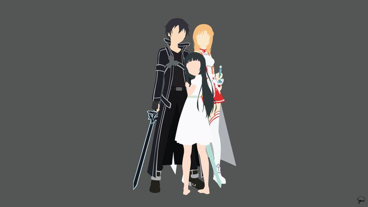 Sword Art Online Minimalist Wallpaper by greenmapple17 on DeviantArt