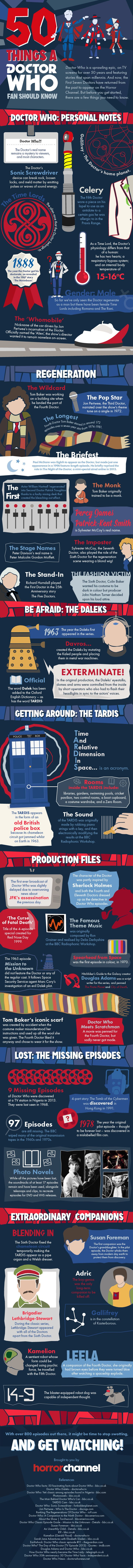 50 things a Doctor Who fan should know - Imgur