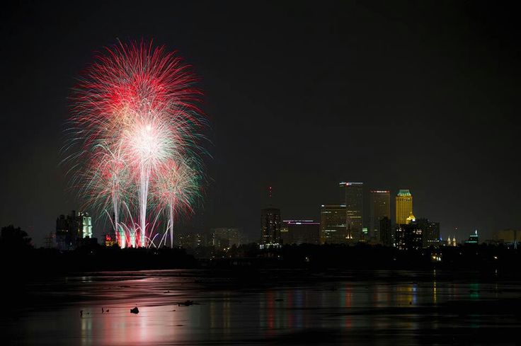 Tulsa, OK on the fourth of July 2013