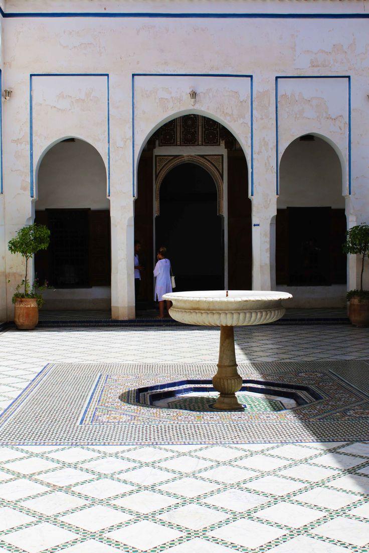 Fotografía tomada desde el Palacio de la Bahía en Marrakech, Marruecos. Visita mi página web para ver más fotografías: https://unachicatrotamundos.wordpress.com/2016/08/03/marrakech-una-ciudad-de-colores-y-especias/