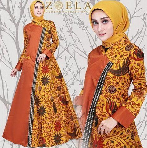 70 Model Baju Batik Kombinasi Remaja Wanita 2019 Model Baju