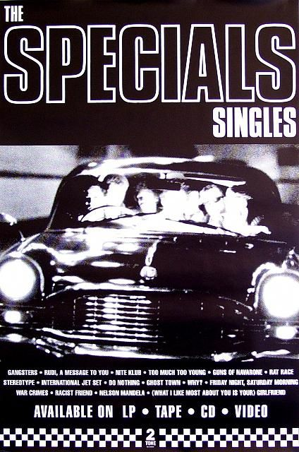 """The Specials """"Singles"""" poster"""