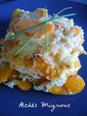 Gratin de carottes tout léger