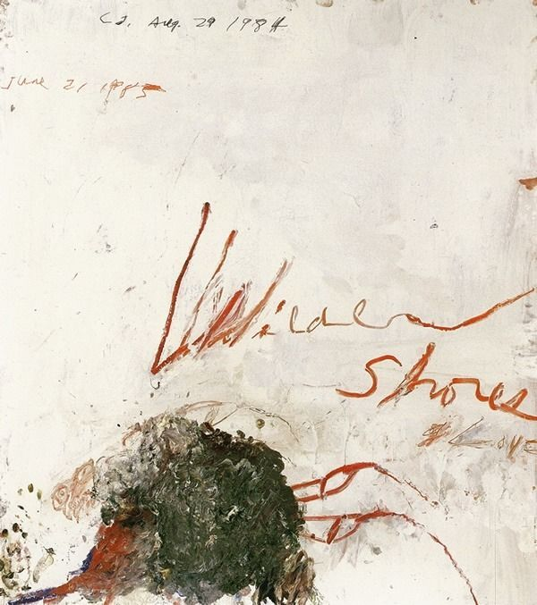 "fabra-ars: "" Cy Twombly """
