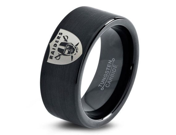 Oakland Raiders Ring Mens Fanatic NFL Sports Football Boys Girls Womens NFL Jewelry Birthday Day