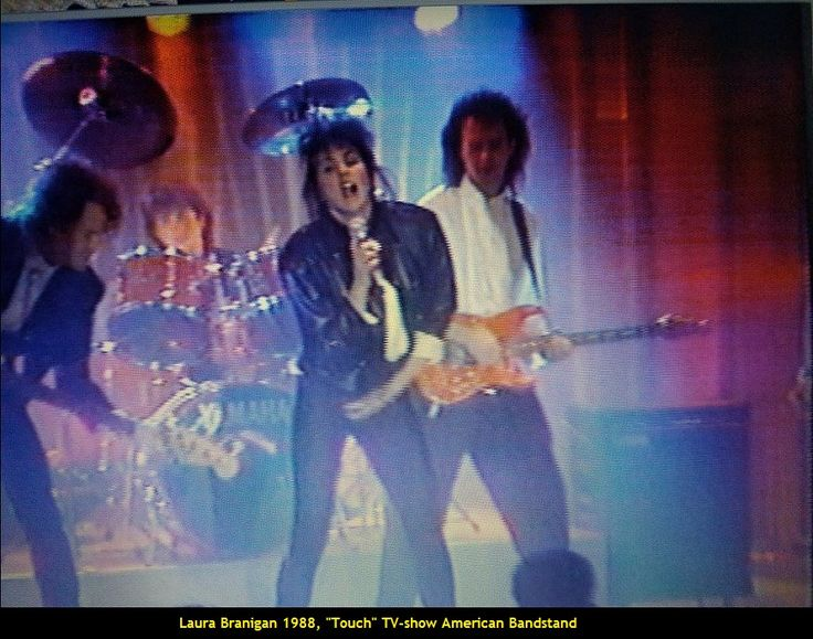 """Laura 1988, Touch on """"American Bandstand"""""""