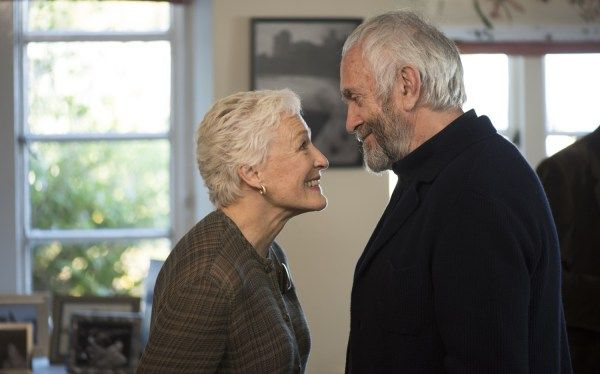 The Wife Movie starring Glenn Close and Jonathan Pryce