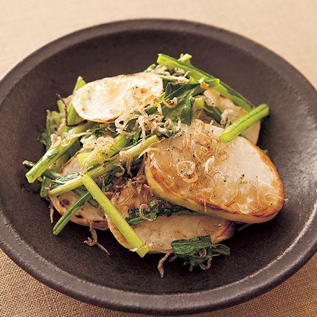かぶのじゃこ炒め | 村田裕子さんのおつまみの料理レシピ | プロの簡単料理レシピはレタスクラブニュース
