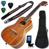 Ukulele Concert Size Bundle From Lohanu (LU-C) 2 Strap Pins Installed FREE Uke Strap Case Tuner Picks Pick Holder Aquila Strings Installed Free Video Lessons BEST UKULELE BUNDLE DEAL Purchase Today... Reviews - http://tonysgifts.net/ukulele-concert-size-bundle-from-lohanu-lu-c-2-strap-pins-installed-free-uke-strap-case-tuner-picks-pick-holder-aquila-strings-installed-free-video-lessons-best-ukulele-bundle-deal-purchase-today/