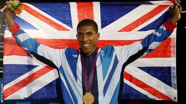Anthony Joshua - Gold Medal Men's Super Heavyweight Boxing (+91kg)