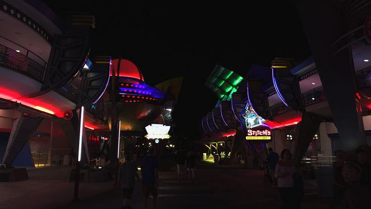 https://flic.kr/p/SFo5JL | Tomorrowland | Late night at Walt Disney World Magic Kingdom Tomorrowland in Bay Lake, Florida (FL), United States (USA). #orlando #florida #usa #themeparks