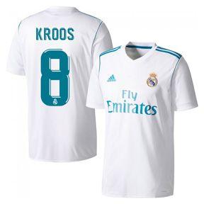 05f99e44f7b ... White adidas Real Madrid Toni Kroos 8 Soccer Jersey (Home 1718) ...