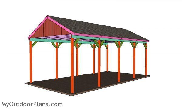 Pin On Wooden Carport Plans