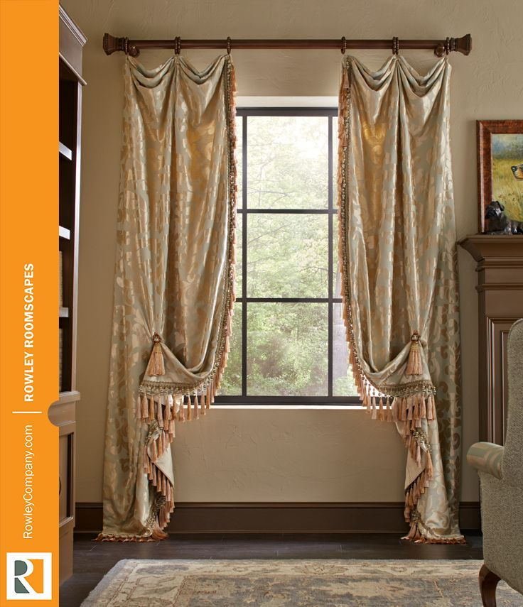 7 best images about drapery ideas on pinterest window for Old world window treatments