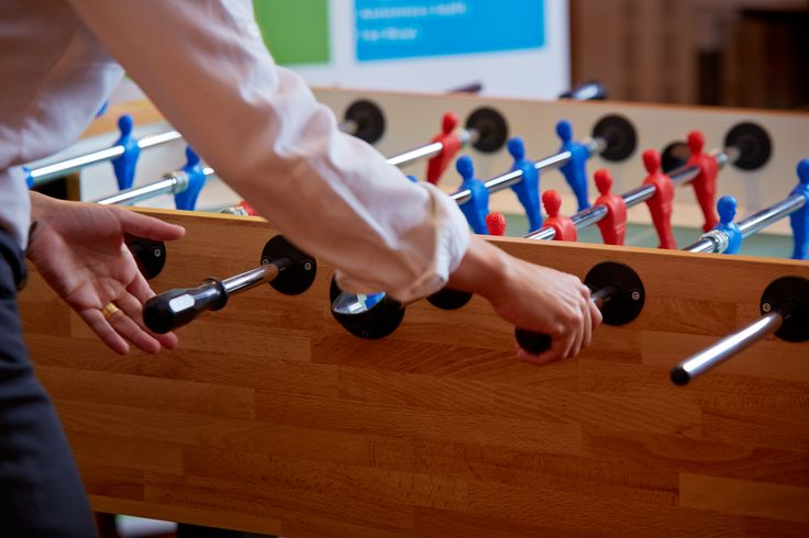 Foster your Team Spirit with a game of tabletop Football during one of your breaks!