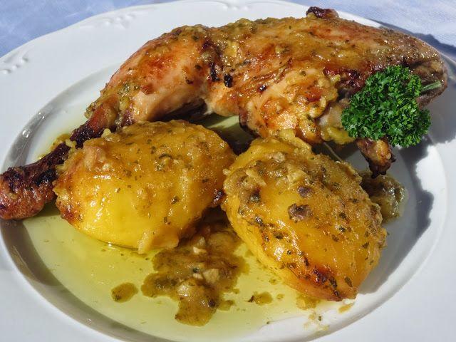 Pollo asado a la importancia Ana Sevilla