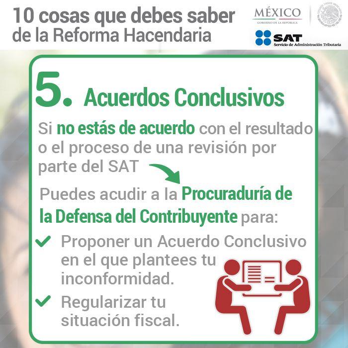 5. Acuerdos Conclusivos.