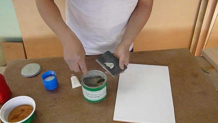 como preparar masilla para tapar defectos de la madera
