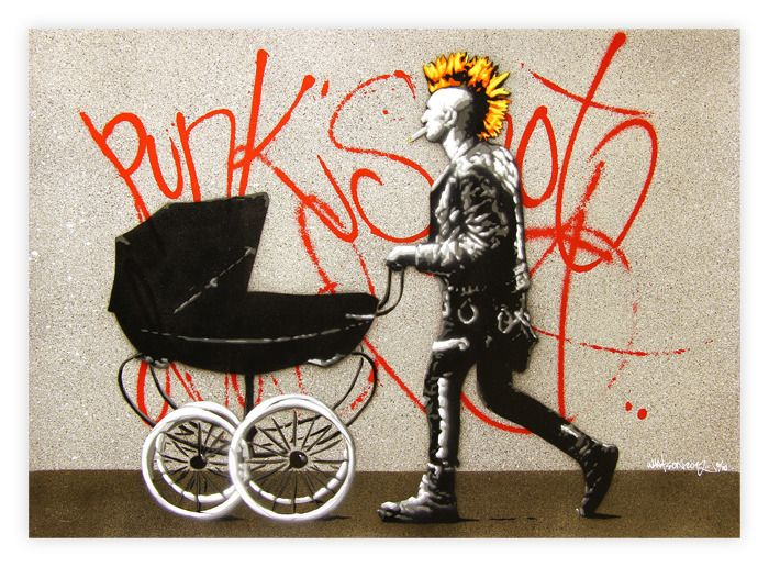 Punk's Not Dead: Banksy