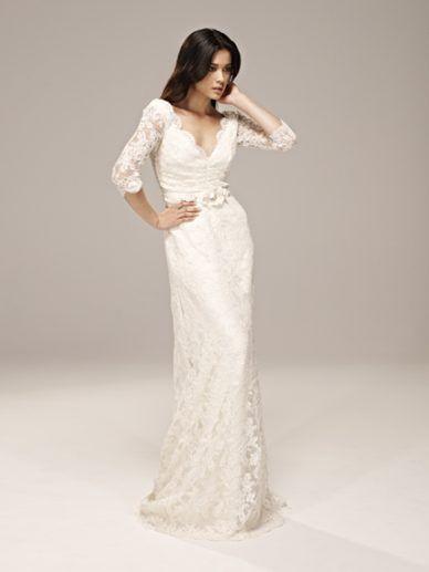 142 best collette dinnigan images on pinterest spring for Wedding dresses for 60 year old brides