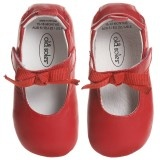 Baby Girls Red Leather Shoes