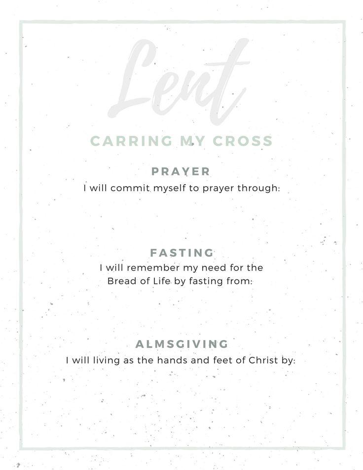 Walking into Lent Carrying My Cross #lent #easter #christian #fasting #prayer