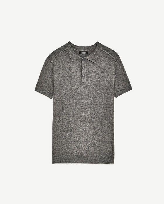 VISCOSE POLO SHIRT fra Zara, 199 kr.