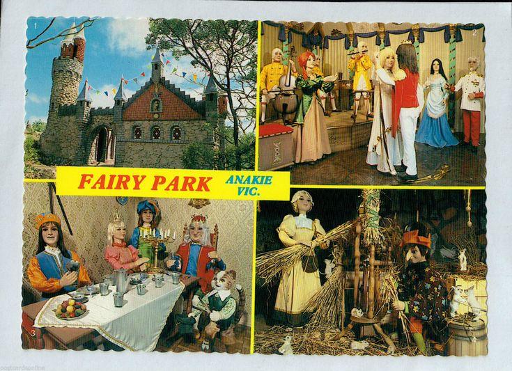 C4618cgt Australia V Anakie Fairy Park Multiview postcard | eBay