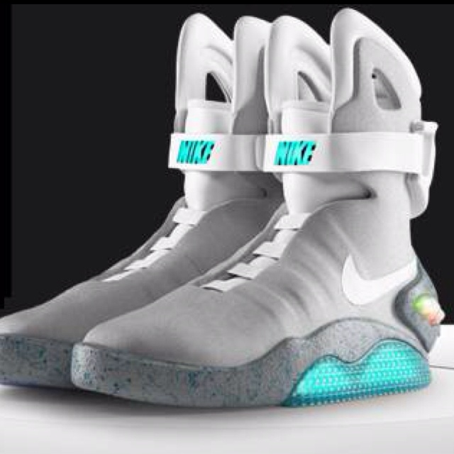 Back to the Future shoes AMAZBALLS!